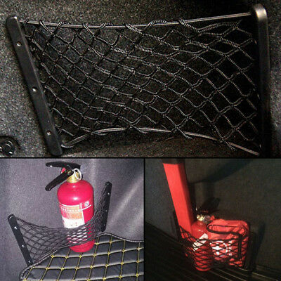 Car Trunk Side Cargo Net Elastic Storage Mesh Kit For Fire Extinguisher Luggage
