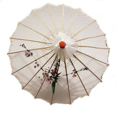 White Transparent Chinese Parasol 22in 160-15 S-4499