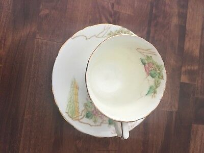 Sutherland china two birds tea cup and saucer