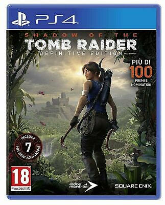 Shadow Of The Tomb Raider Ps4 Videogame Italiano Gioco Eu Playstation 4 Nuovo