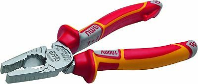 NWS 109-49-180 High Leverage VDE Electricians Combination Pliers 180mm 1000V