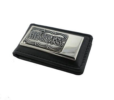 Irish Celtic Money Clip Made in Ireland by Mullingar Pewter