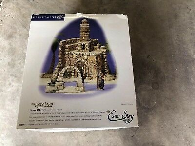 dept 56 Easter Story Holy Land Tower Of David