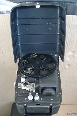 Bell and Howell Vintage 8mm Movie Film Projector With Case -Model 256