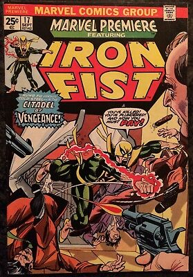 6 Issue Set of Marvel Premiere Comics- Early Iron Fist - Bronze Age Comics!