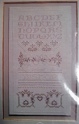 Stickpackung The Love Sampler Hardanger Tuch mit Hohlsaum von Cross n Patch OVP