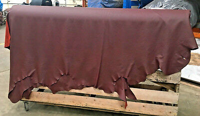 Rich Burgundy Upholstery Full Hide
