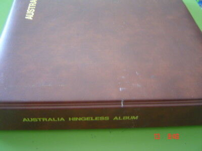 Seven Seas Hingeless Album 1914-1977 Includes some Great stamps all Used
