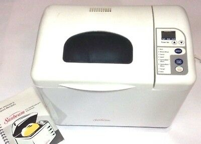 Sun Beam Automatic 2 lb Express Bake Bread Machine Maker 5833 Includes All Parts