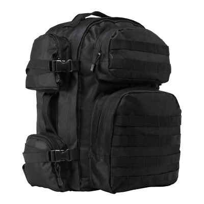 NcStar CBB2911 BLACK Heavy Duty PALS Utility Camping Hiking Tactical Backpack