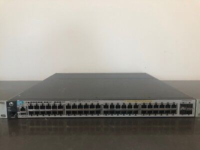 HP E3800-48G-PoE+-4SFP+ 48 Port Layer 3 Switch J9574A 3800