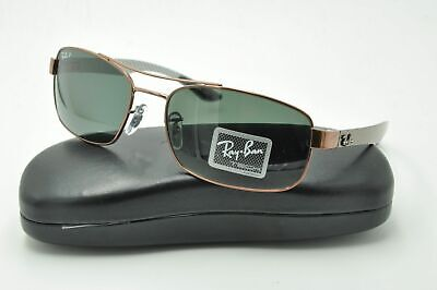 6c46f39599 Ray Ban RB 8318-CH Chromance Sunglasses 002 5L Black   Polarized Gray  Mirrored