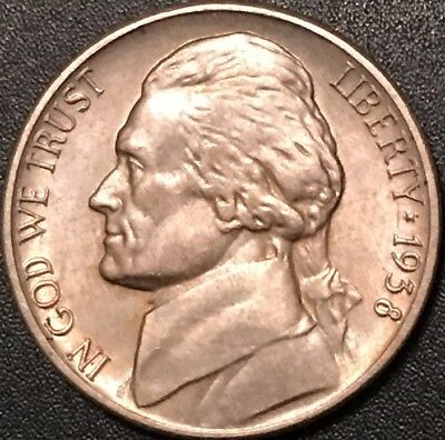 1938-S // Key Date Jefferson Nickels/extra Fine/fast Shipping!