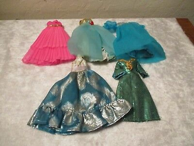 Original Topper Dawn Doll Lot of Gowns