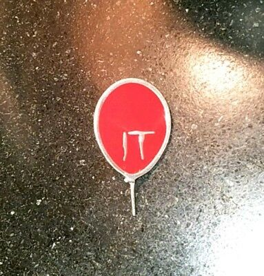 Rare It Movie Promo Metal Pin Red Balloon Pennywise Stephen King Horror Film