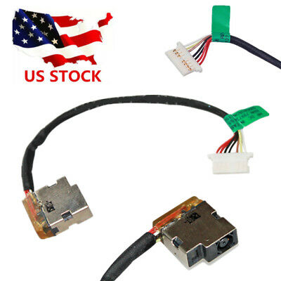 DC IN POWER JACK CABLE CHARGING PORT For HP 15-DA0061CL 15-DA0012DX 4BS32UA