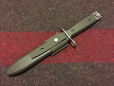 Swiss Army Bayonet for SIG & SAN Swiss Rifles, Made by Wenger