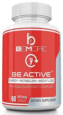 BE ACTIVE | Thyroid Supplement | The ONLY Thyroid Support Complex that Optimi...
