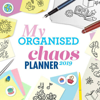 My Organised Chaos Planner 2019 Wall Calendar by Paper Pocket, Free Post