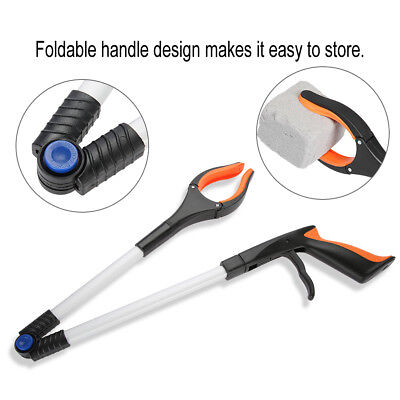 Foldable Picker Reacher Grabber Disability Aid Rotatable Gripper Reaching Tool