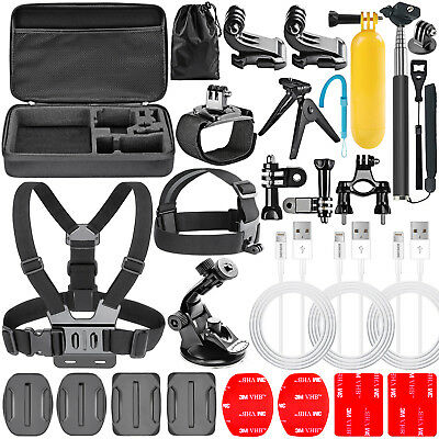 Neewer 24-in-1 Accessories Kit Handheld Monopod Head Strap for GoPro 1 2 3 3+ 4