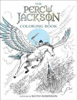Percy Jackson and the Olympians the Percy Jackson Coloring Book (Percy Jackson