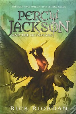 Percy Jackson and the Olympians Hardcover Boxed Set (Percy Jackson & the
