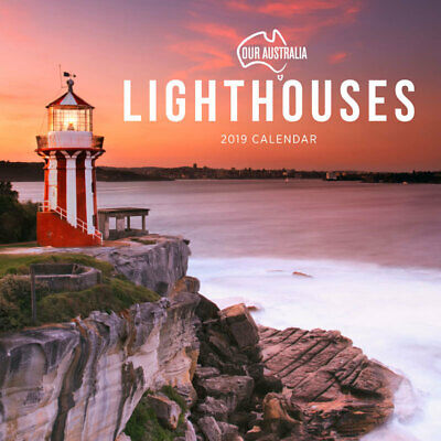 Our Australia Lighthouses 2019 Wall Calendar by Paper Pocket, Free Post