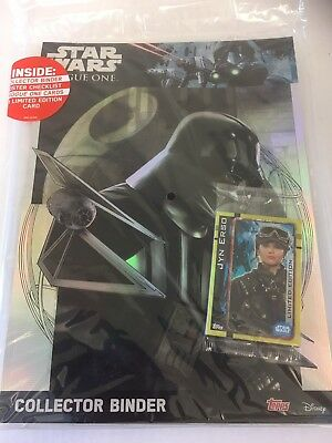 Star Wars TOPPS Rogue One Starter Pack - Binder, 5 Cards & 1 Limited Edition