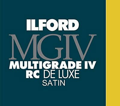 Ilford Multigrade IV RC Deluxe 8 x 10, 25 Sheets Satin Paper