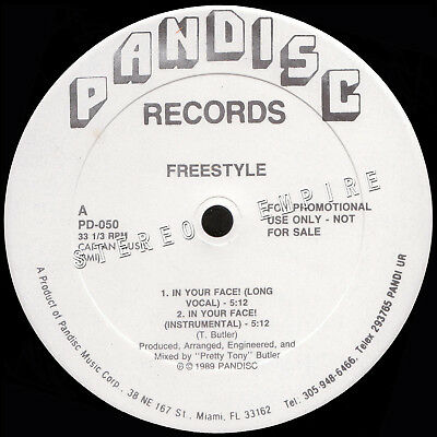 SER - FREESTYLE - In Your Face - ELECTRO / OLDSKOOL - Pandisc PROMO