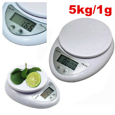 5000g/1g 5kg Digital Electronic Kitchen Food Diet Postal Scale Weight Balance
