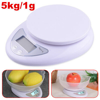 5kg 5000g/1g Electronic Digital Kitchen Food Diet Postal Scale Weight Balance