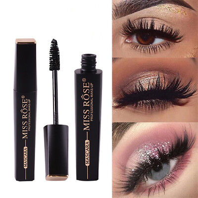Waterproof 4D Silk Fiber Lash Mascara Eyelashes Long Extension Cosmetic IAF