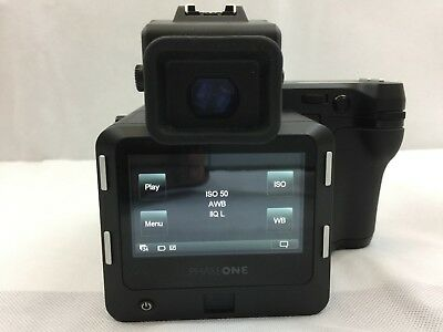 PHASE ONE IQ3 80MP DIGITAL BACK Mamiya AFD, XF Prism Viewfinder & Body