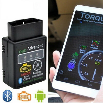 Aussie ELM327 Bluetooth OBD2 OBDII Auto Car Diagnostic Scanner Scan Tool Android