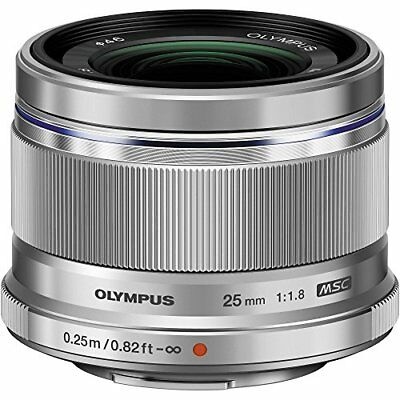 Olympus 25mm f1.8 Interchangeable Lens Silver