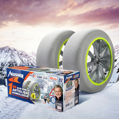 Chaines Neige Textiles MUSHER Taille N°05 - Chaines Made in FRANCE !