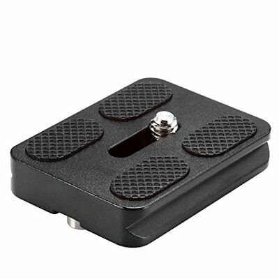 Neewer Black Metal PU-50 14 Universal Quick Release Plate for Arca-Swiss Stand