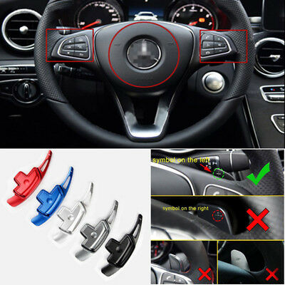 Aluminum Steering Wheel Shift Paddle Shifter For Mercedes-Benz A B C E GLA CLASS