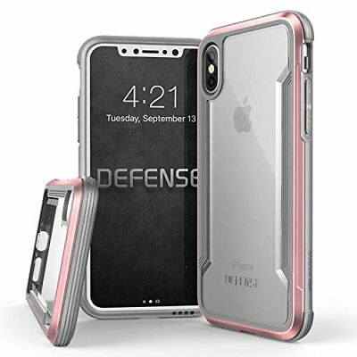 iPhone X Case, X-Doria Defense Shield Series - Military Grade Drop Tested, Anodi