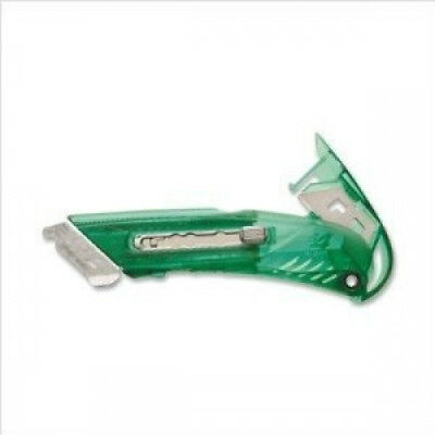 Safety Cutter, Right-Handed, Lever Release for Blades, Green. PHC. Brand New