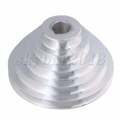 25mm Hole Dia Bore Outter Dia 54-150mm 5 Step A Type V-Belt Pagoda Pulley Belt