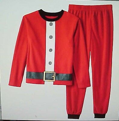 New with tags 2pc Boy or Girl Size 2T Santa Suit PJ Pajama Set FREE SHIPPING