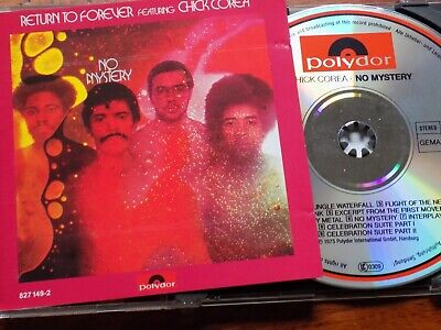 CHICK COREA / RETURN TO FOREVER - No Mystery CD 1970 Polydor Excellent Cond!