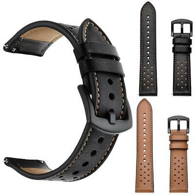 Leather Replacement Watch Wrist Strap Band For Samsung Galaxy watch 42/46mm