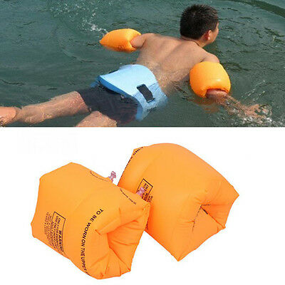 2PCS Baby Kids INFLATABLE SWIMMING AID FLOAT ARMBAND Swim Training Tools Nice