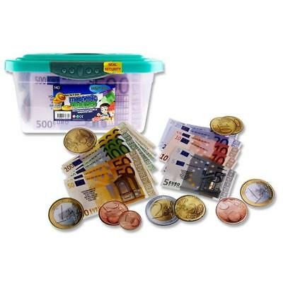 CleverCo Magnetic Euro Money Class Set 140 Pcs
