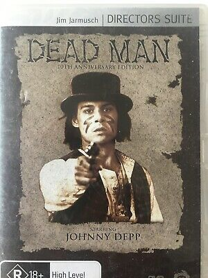 DEAD MAN DVD Jim Jarmusch 1994 AS NEW! Madman Directors Suite Neil Young