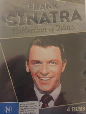 THE FRANK SINATRA - Collection Of Films 4 x DVD Set BRAND NEW! Anchors Aweigh